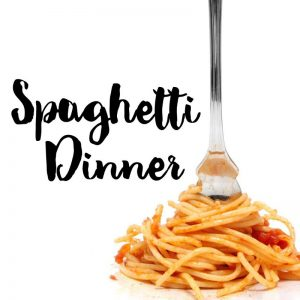 Spaghetti Dinner $5 Per Person