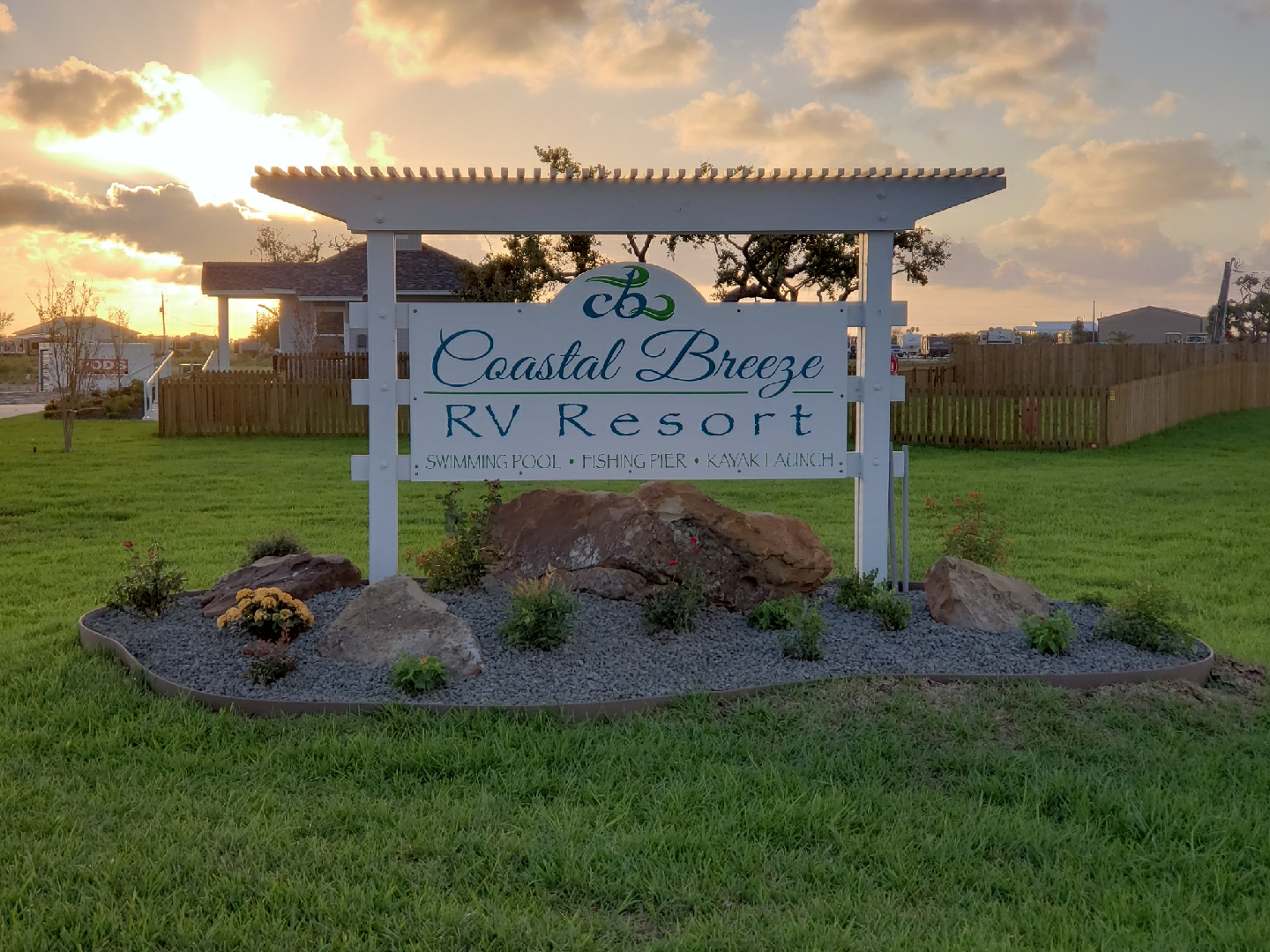 Coastal Breeze RV Resort, Rockport Texas
